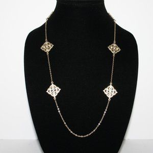 """Beautiful gold necklace 36"""" long"""